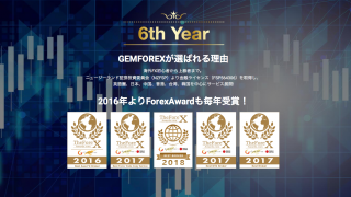 GEMFOREXは6周年