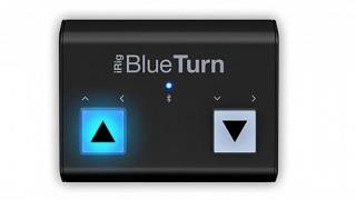 iRig BlueTurn Bluetooth フットペダル